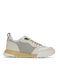 Lanvin Off White Technical Sneakers