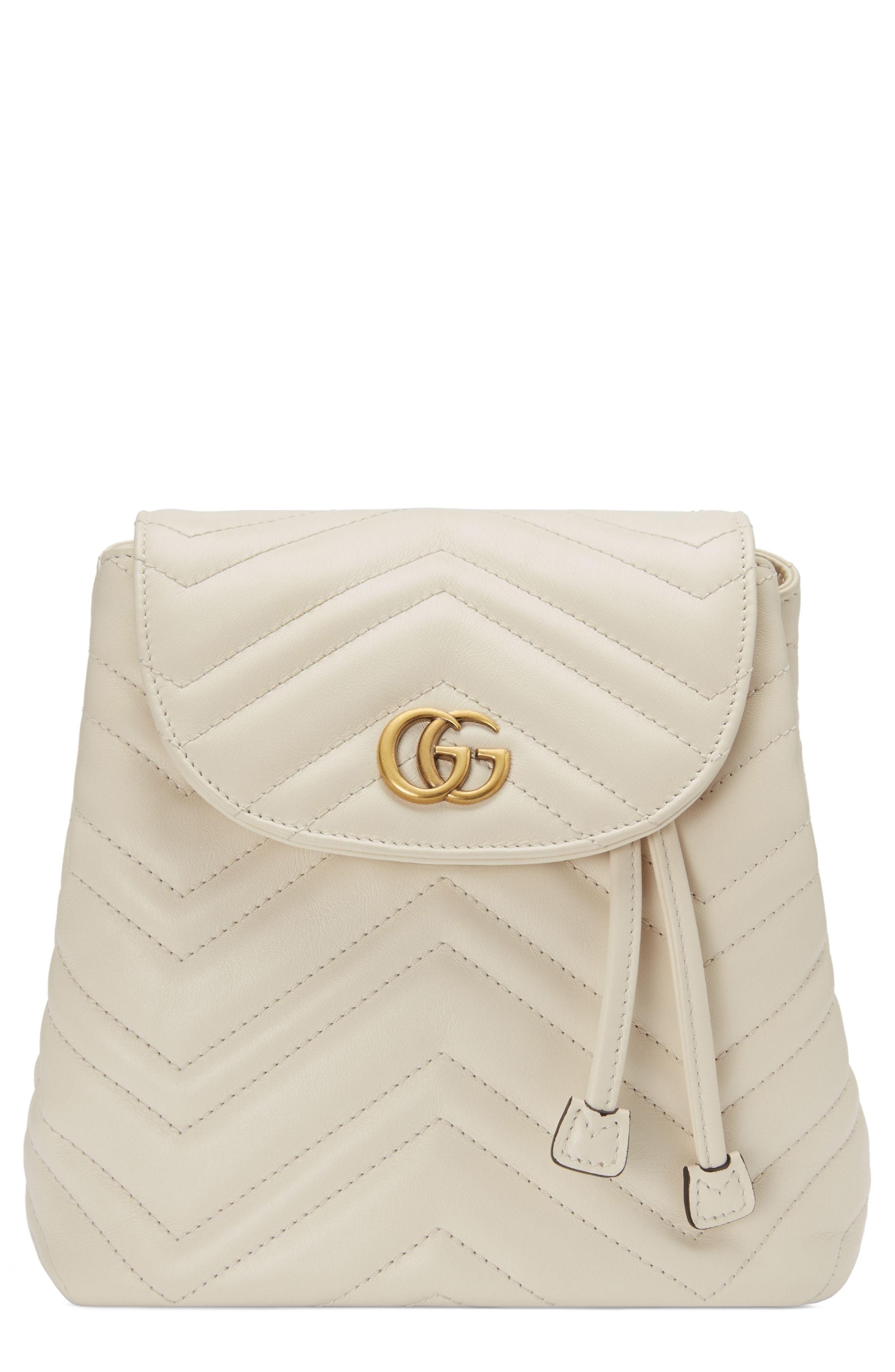 ffd0fd6e9323 Gucci Gg Marmont 20 Matelasse Leather Mini Backpack, $1,980 ...