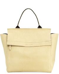 Brunello Cucinelli Bubble Leather Maxi Handbag Cream