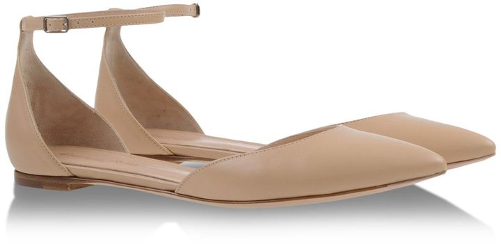 separation shoes 91d39 49d7c $620, Gianvito Rossi Ballerinas
