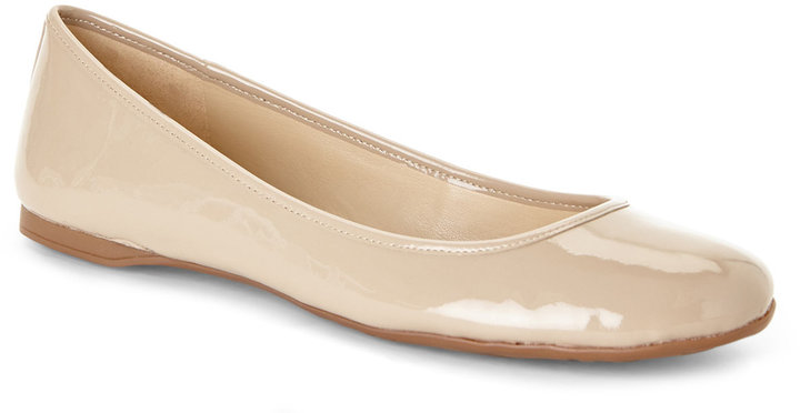 Nude Patent Flats 69
