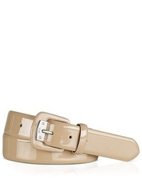 Lauren Ralph Lauren Belt Patent Covered Buckle