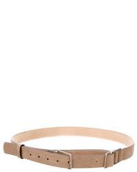 Brunello Cucinelli Leather Loop Belt
