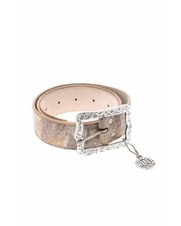 Leather Rock Leatherock Antiqued Leather Belt