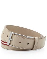 Bally Tamer Reversible Calf Leather Belt Tan
