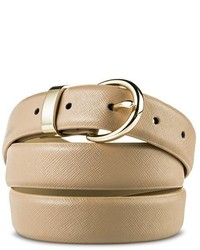 Merona Textured Belt Beige