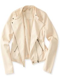 Aeropostale Faux Leather Moto Jacket