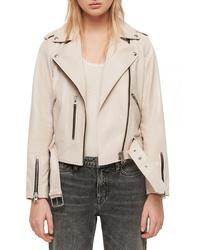 AllSaints Balfern Leather Biker Jacket
