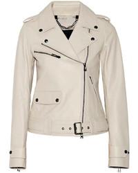 Watson leather biker jacket medium 263831
