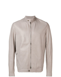 Salvatore Santoro Zipped Leather Jacket