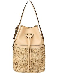 Lulu Flower Bucket Bag