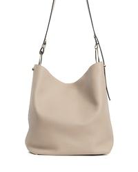 STRATHBERRY Medium Lana Leather Bucket Bag