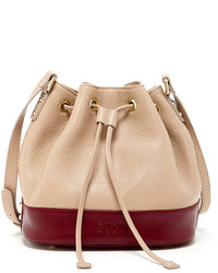 Susu Ava Genuine Leather Bucket Bag