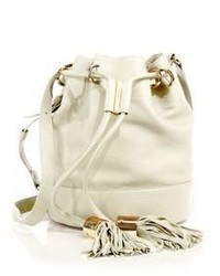 See by Chloe Vicki Small Leather Bucket Bag
