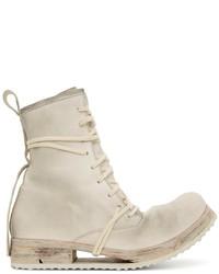 Boris Bidjan Saberi Leather Lace Up Boot2 Boots