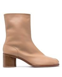 Maison Margiela Tabi Leather Ankle Boots