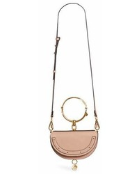 Chloé Chloe Small Nile Bracelet Calfskin Leather Minaudiere