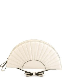 RED Valentino Fan Shaped Clutch