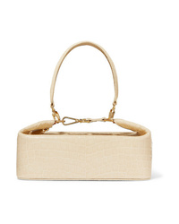 Rejina Pyo Olivia Croc Effect Leather Tote