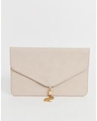 ASOS DESIGN Tassel Clutch Bag
