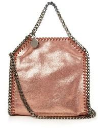 Stella McCartney Bella Tiny Metallic Faux Leather Cross Body Bag