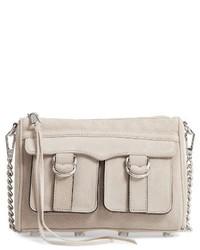 Rebecca Minkoff Cliffside Leather Crossbody Bag Black