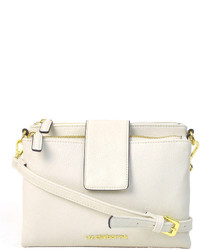 Liz Claiborne Double Top Zip Crossbody Bag