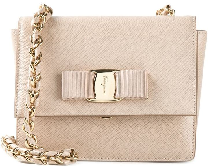 c4f76cf7551d ... Leather Crossbody Bags Salvatore Ferragamo Ginny Crossbody Bag