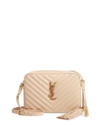 Saint Laurent Lou Matelasse Leather Camera Bag
