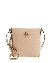 0b26a245b514 Women s Beige Leather Crossbody Bags by Tory Burch