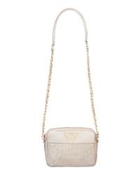 KELLY WYNNE Mingle Mingle Mini Embossed Leather Crossbody Bag