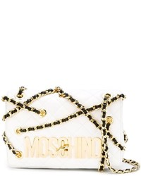 Moschino Chain Embellished Crossbody Bag