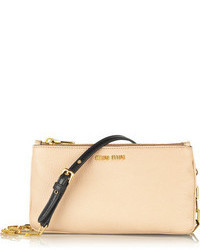 Miu Miu Piccole Leather Shoulder Bag
