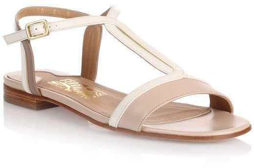 Gerry macadamia leather sandal Salvatore Ferragamo VR7lxwCA