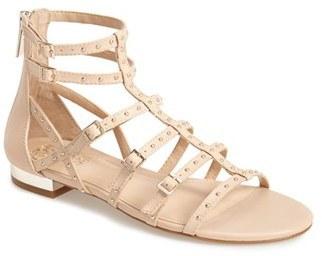 af7dfd7df7e ... Vince Camuto Hevelli Studded Leather Gladiator Sandal ...