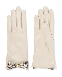 Gucci Ed Med Leather Gloves