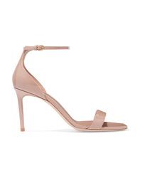 Saint Laurent Amber Patent Leather Sandals