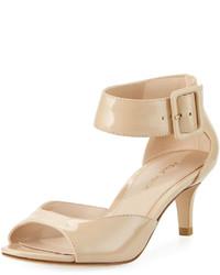 Pelle Moda Belin Low Heel Dressy Sandal