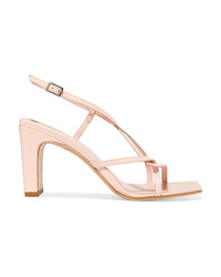 BY FA Carrie Leather Slingback Sandals