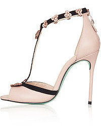 Topshop Cjg Buenos Aires Leather Sandals