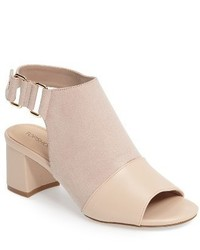 Topshop Duke Block Heel Faux Leather Sandal
