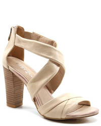Diba Exit Left High Heel Sandal
