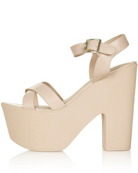 Topshop Launch Platform Sandals