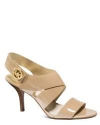Michael Kors Michl Kors Joselle Patent Leather Sandal