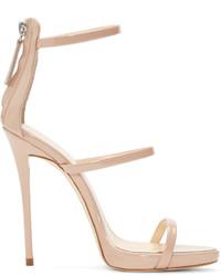 Pink coline heeled sandals medium 526588