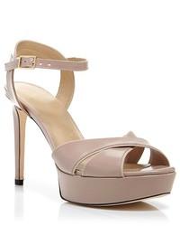 Stuart Weitzman Platform Sandals Nexus High Heel
