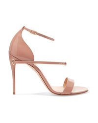Jennifer Chamandi Rolando Patent Leather Sandals