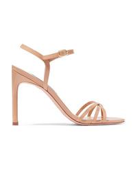 Stuart Weitzman Starla Patent Leather Sandals