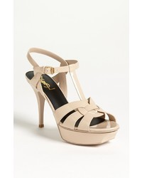 Saint Laurent Tribute T Strap Sandal