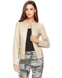 Luane leather jacket medium 84752